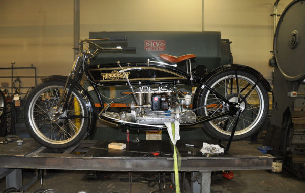 1912 Henderson Motorcycle Restoration